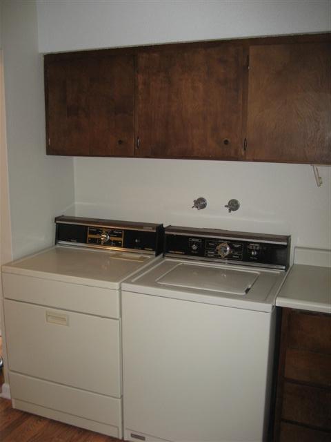 Washer and Dryer are included.